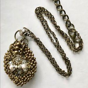 Jewelry - Pam Hiram Bib Beaded Statement  Necklace
